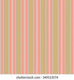Seamless orange background of plaid pattern