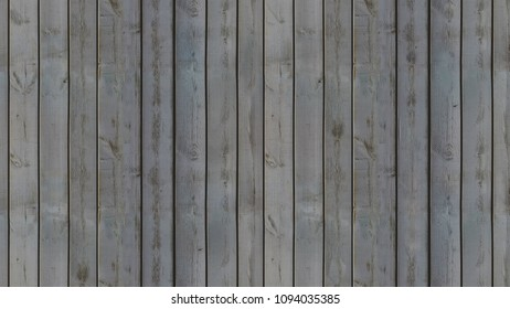Seamless pattern of dark-colored vertical wooden panels that connect perfectly in an old-fashioned style