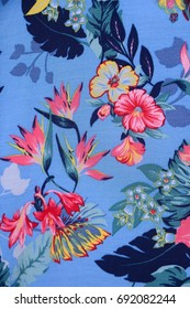 Seamless pattern with flowers. fabric surface textures