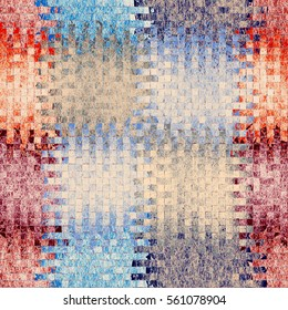 Seamless pattern for marble tile,linoleum,upholstery with colorful square elements