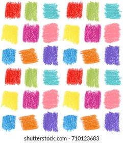 Seamless pattern. Pastel graphics. Holidays background