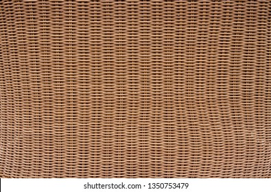 Seamless pattern realistic rattan texture. Detail handcraft bamboo weaving background.