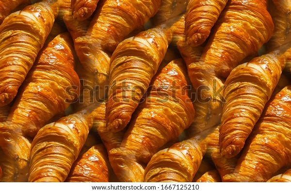 seamless-pattern-tasty-french-croissant-