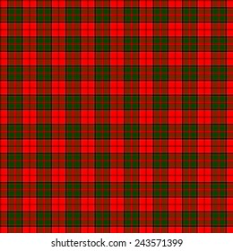 A seamless patterned tile of the clan Cairns tartan.