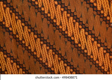 seamless patterns of Indonesia batik cloth
