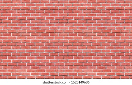 seamless red brick wall pattern or texture