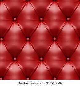 Seamless Red Furniture Cover Texture