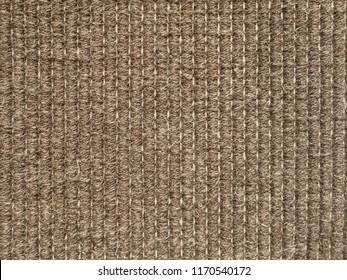 Seamless sisal mat texture background