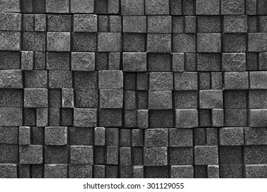 Seamless stone wall background - texture pattern for continuous replicate