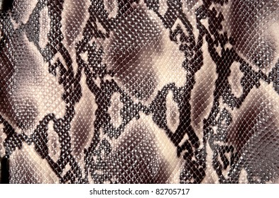 Seamless texture background brown snake leather