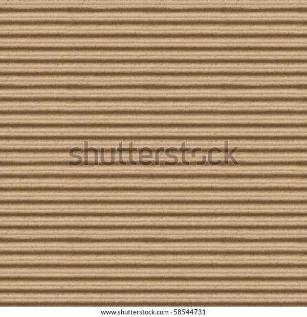 Seamless Texture Brown Corrugate Cardboard Stock Photo (Edit Now ...