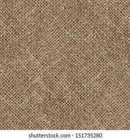 Seamless texture of canvas sacks