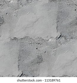 seamless texture concrete sand brick old gray stone wall with crack background