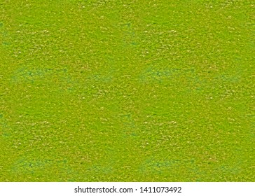 Seamless texture, endless canvas - Trampled old lawn with barely sprinkled young spring grass