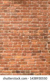 Seamless texture old brick wall. Dirty brickwork.