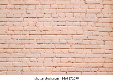 Seamless texture pink brick wall.