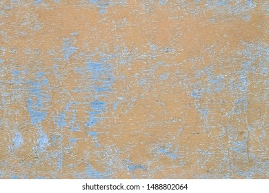 Seamless texture of scratched paint of an old wooden wall for abstract grunge background