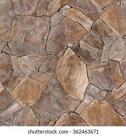 Seamless texture stone wall. Seamless  background.