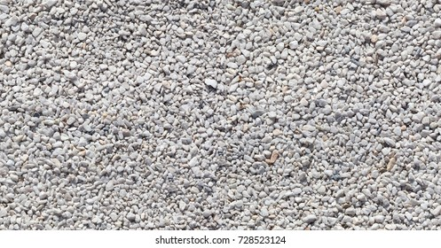 Seamless texture of white stones or gravel