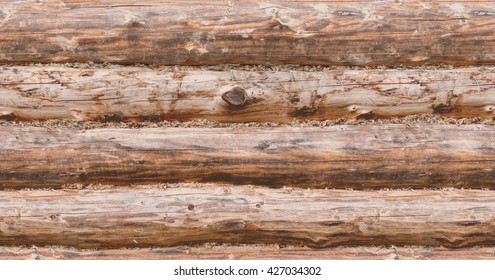 Seamless texture - wood logs - tile able