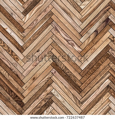 Seamless Texture Wood Parquet Herringbone Floor Stock Photo Edit
