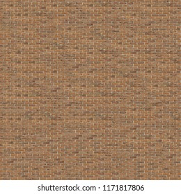 Seamless  texture\background red brick wall with white seams.