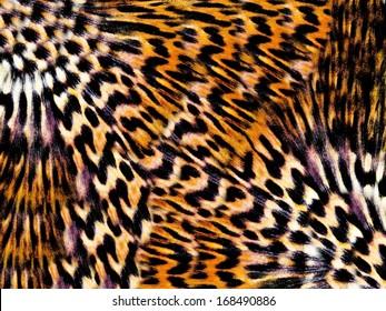 Seamless Tiger pattern background