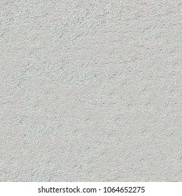 Seamless Tileable Texture of White Textured Plaster Wall.