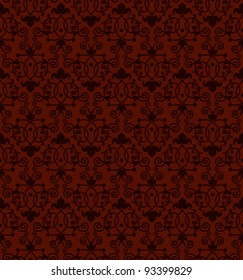 A seamless tiling antique Victorian style background pattern