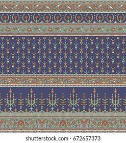 Seamless Traditional Indian motif
