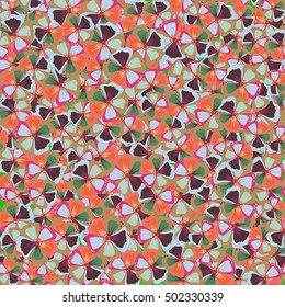 Seamless tropical flower, abstract pattern background.