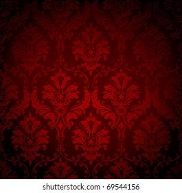 Seamless wallpaper pattern, bitmap copy