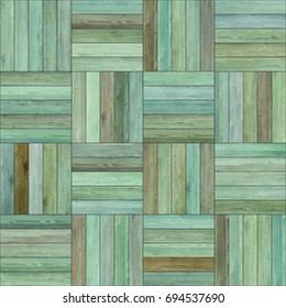 Seamless wood parquet texture (basket clip-art)