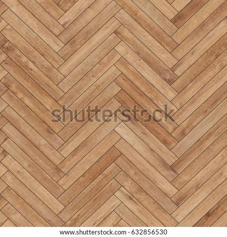 Foto Stock A Tema Seamless Wood Parquet Texture Herringbone Light