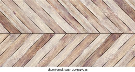 Seamless wood parquet texture (horizontal chevron common)