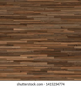 Seamless wood parquet texture (linear brown)