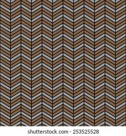 Seamless wooden interchanging chevrons pattern