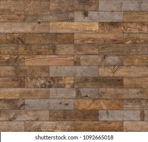 Seamless wooden planks texture background flatlay