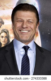 Sean Bean at the Los Angeles premiere of 'Jupiter Ascending' held at the TCL Chinese Theater in Hollywood on February 2, 2015.