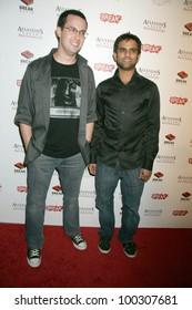 "Sean Becker and Sandeep Parikh  at the ""Assassin's Creed Brotherhood"" World Launch Party, Premiere, Hollywood, CA. 11-15-10"