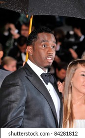 """Sean Combs, aka P. Diddy, at the gala premiere of """"Changeling"""" at the 61st Annual International Film Festival de Cannes. May 20, 2008  Cannes, France. Picture: Paul Smith / Featureflash"""