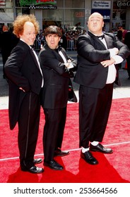 """Sean Hayes, Chris Diamantopoulos, and Will Sasso at the World Premiere of """"The Three Stooges: The Movie"""" held at the Grauman's Chinese Theater in Los Angeles, USA on April 7, 2012."""