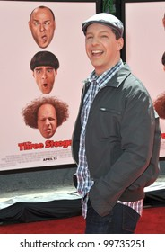"""Sean Hayes at the world premiere of his new movie """"The Three Stooges"""" at Grauman's Chinese Theatre, Hollywood. April 7, 2012  Los Angeles, CA Picture: Paul Smith / Featureflash"""