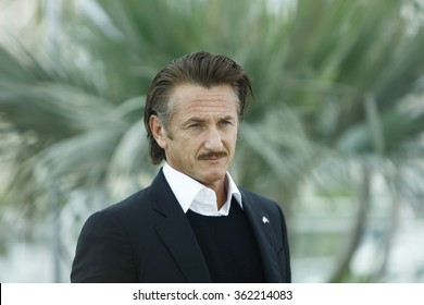 Sean Penn attends the 'Haiti Carnaval In Cannes' Photocall during the 65th Annual Cannes Film Festival at Palais des Festivals on May 18, 2012 in Cannes, France