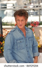 """Sean Penn at the photocall for his new movie """"This Must Be The Place"""" in competition at the 64th Festival de Cannes. May 20, 2011  Cannes, France Picture: Paul Smith / Featureflash"""