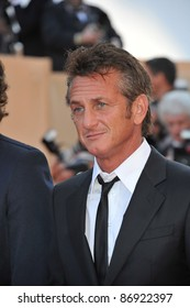"""Sean Penn at the premiere of his new movie """"This Must Be The Place"""" in competition at the 64th Festival de Cannes. May 20, 2011  Cannes, France Picture: Paul Smith / Featureflash"""