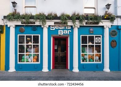 Sean's Bar - oldest pub in Ireland. Athlone, Ireland. March 2017