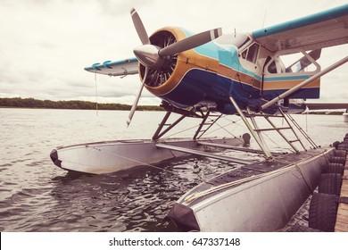 Seaplane in Alaska.