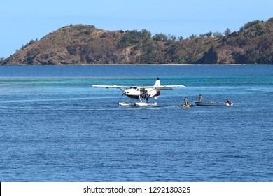 A seaplane connecting Nadi with the Yasawa Islands, Fiji