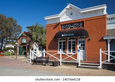 Seaport Village is a waterfront shopping and dining complex adjacent to San Diego Bay in downtown San Diego, California, USA. September 24th 2016